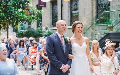 Devonshire Terrace Wedding: A Summer Courtyard Wedding in London