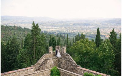 Castello Di Vincigliata: Florence Destination Wedding with Tuscan Views.