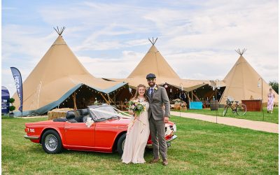 Tipi Wedding Essex: Relaxed Summer Festival Wedding with DIY Details