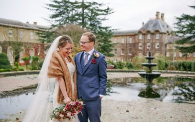 Windsor Wedding: A Fun Winter Wedding at De Vere Beaumont Estate