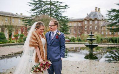 Windsor Wedding: A Fun Winter Wedding at De Vere Beaumont Estate