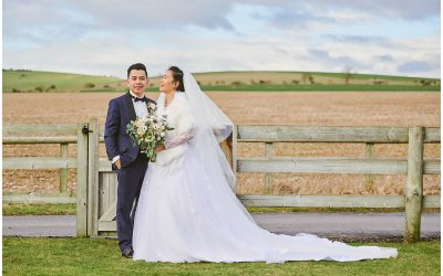 Long Furlong Barn Wedding: A Rustic Winter Wedding in the Countryside